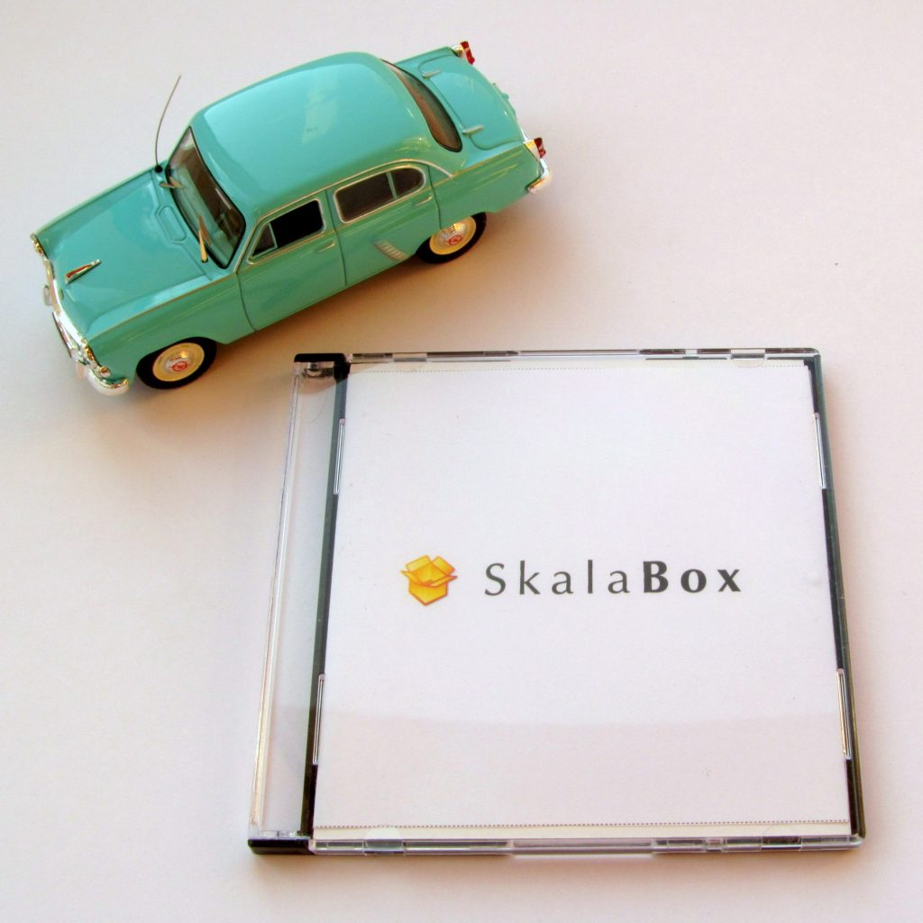 SkalaBox mini DVD