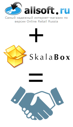 allsoft +  skalabox = partnership