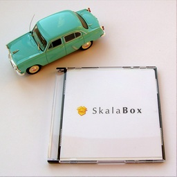 SkalaBox mini-CD и Москвич-402